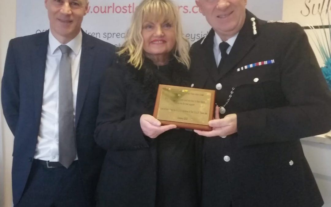 Thank you to our Chief Constable Andy Cooke