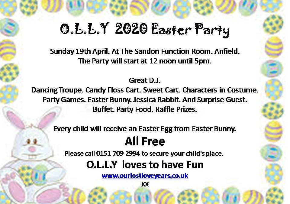 O.L.L.Y Easter 2020 Party
