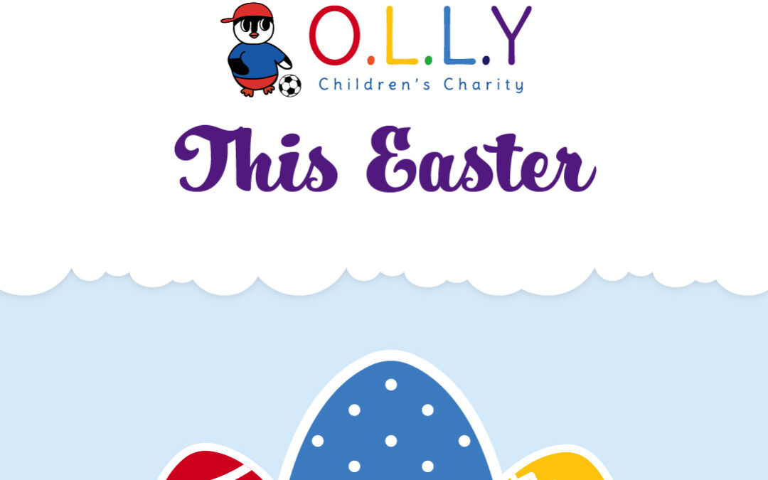 OLLY Wants to be an Easter Bunny