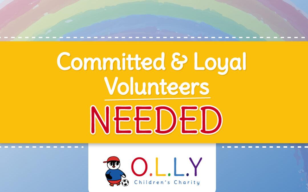 OLLY Needs Volunteers